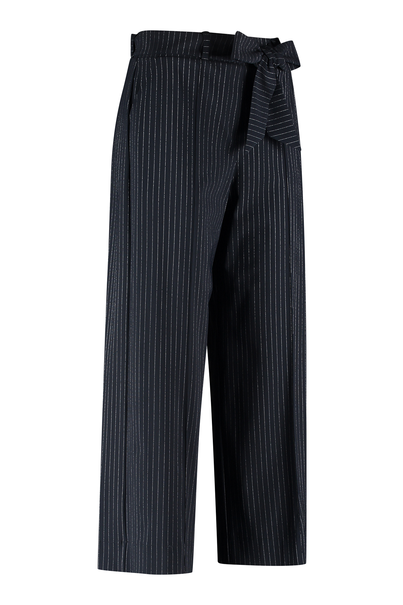 Charlotte pinstripe trousers