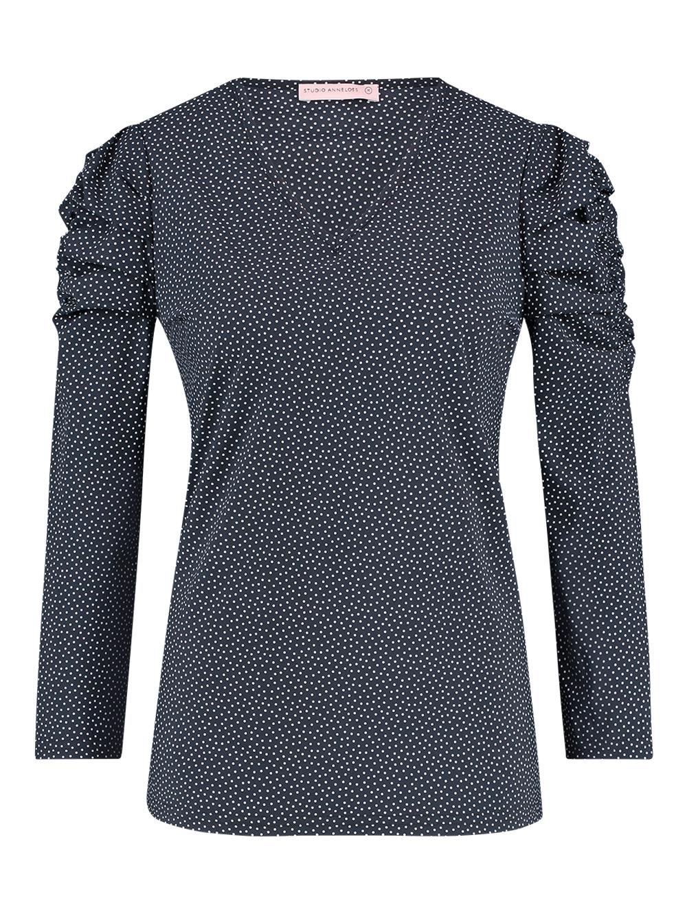 Laure small dot shirt