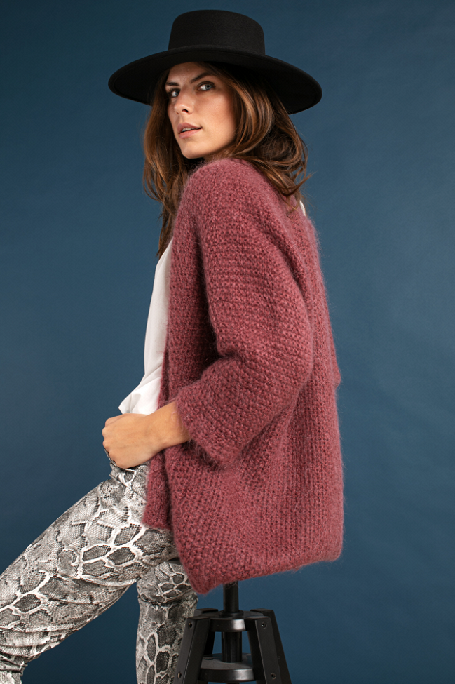 Lisa wool cardigan