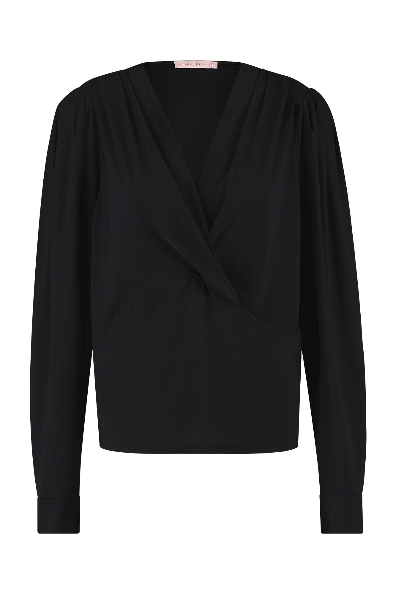 Marit wrap blouse