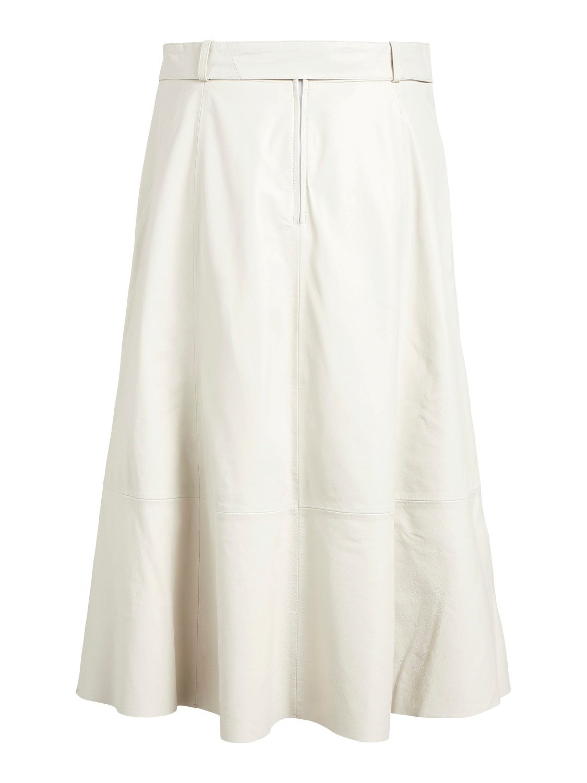 OBJLove Leather skirt