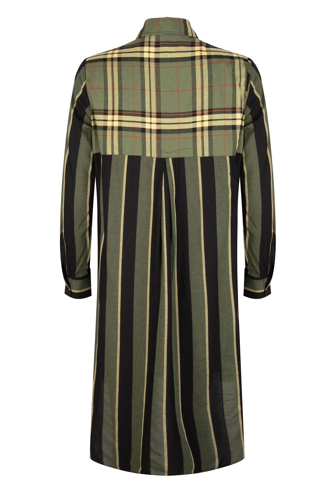Oversized blouse dress