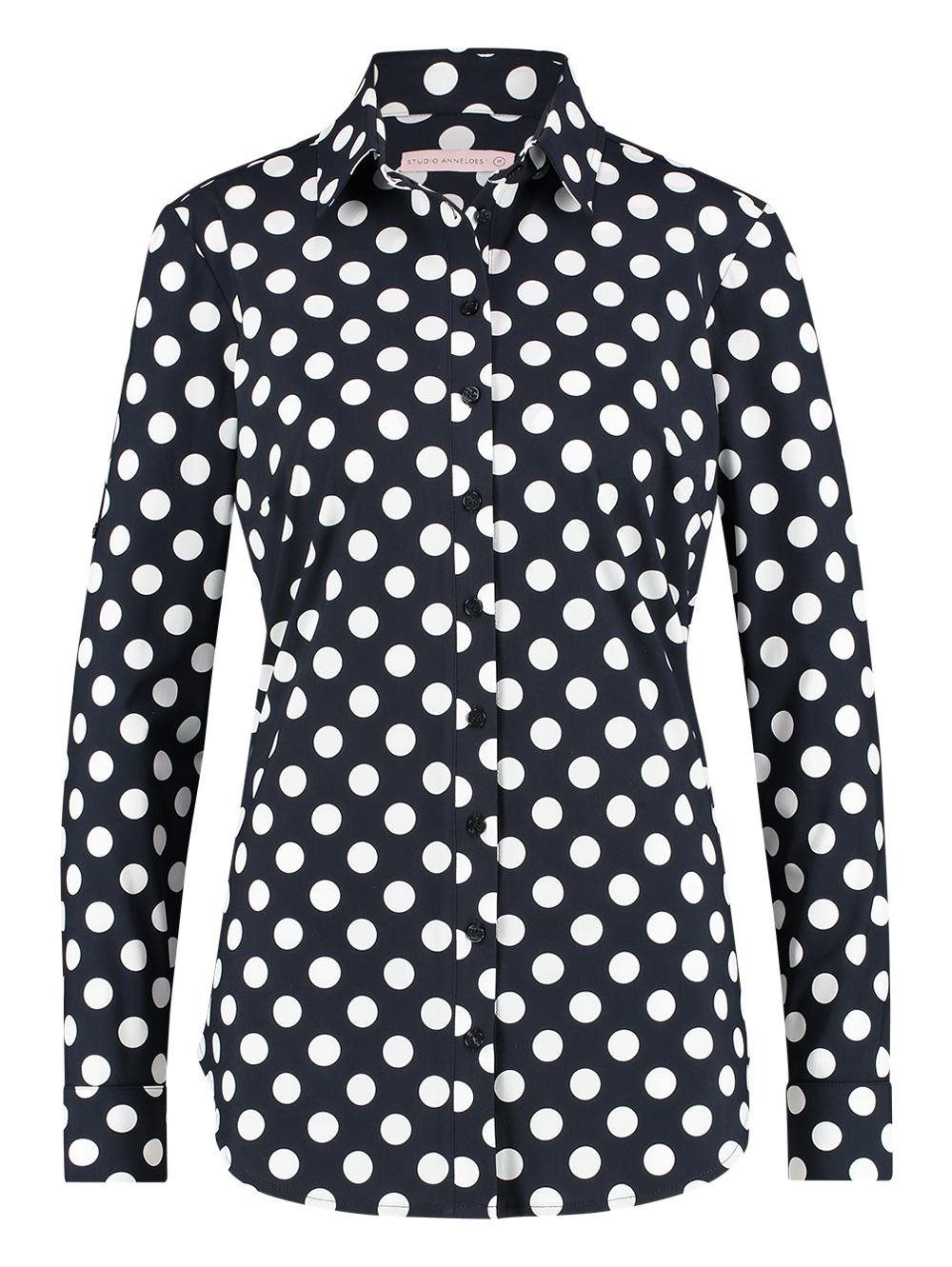 Poppy dot blouse