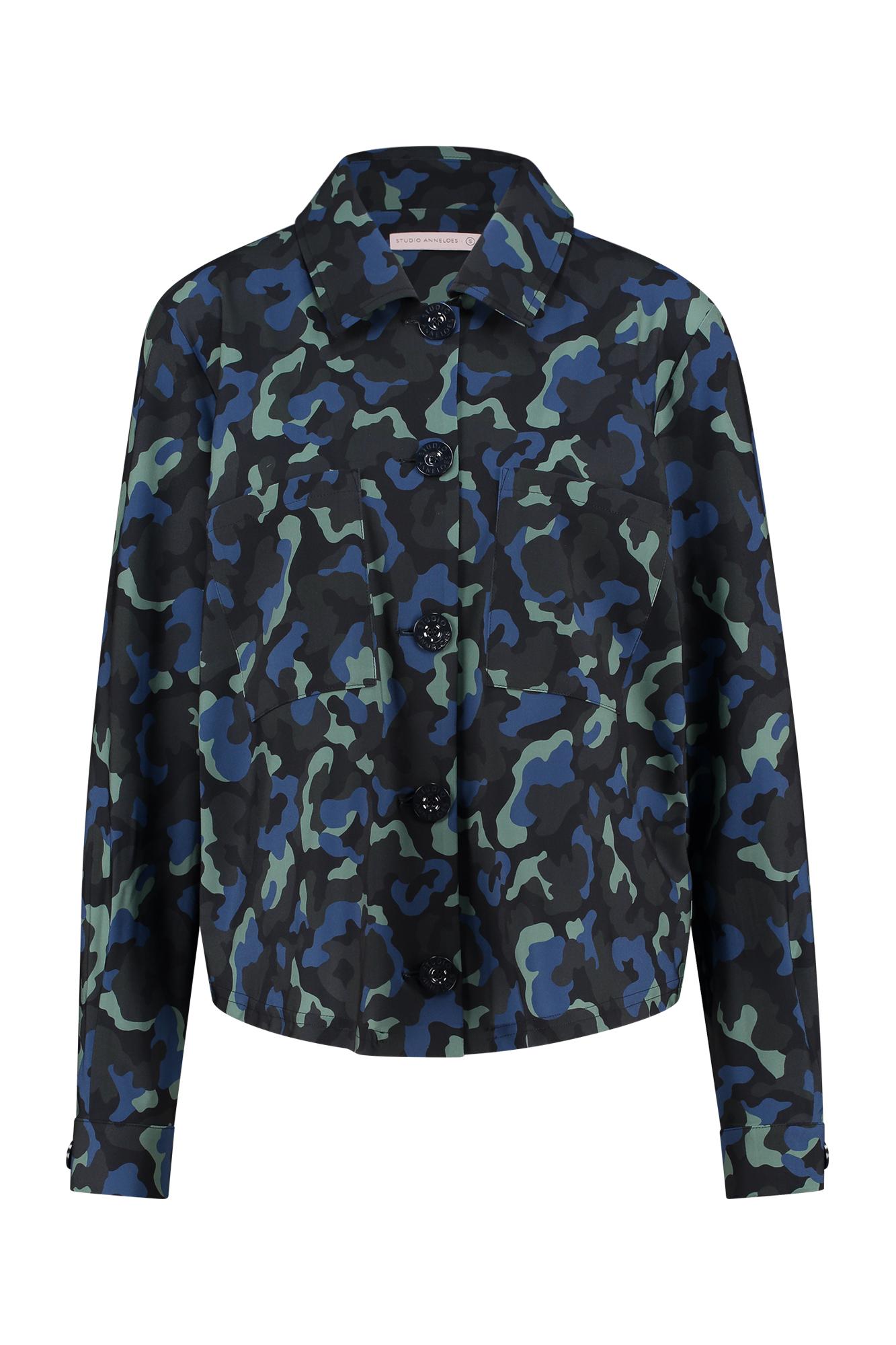 Robin camo blouse