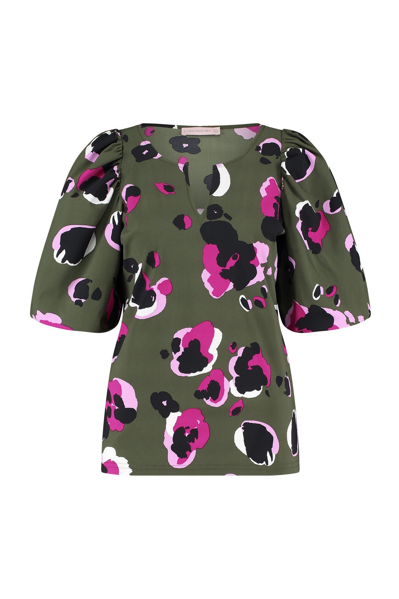 Bo-ann 3/4 arti animal blouse