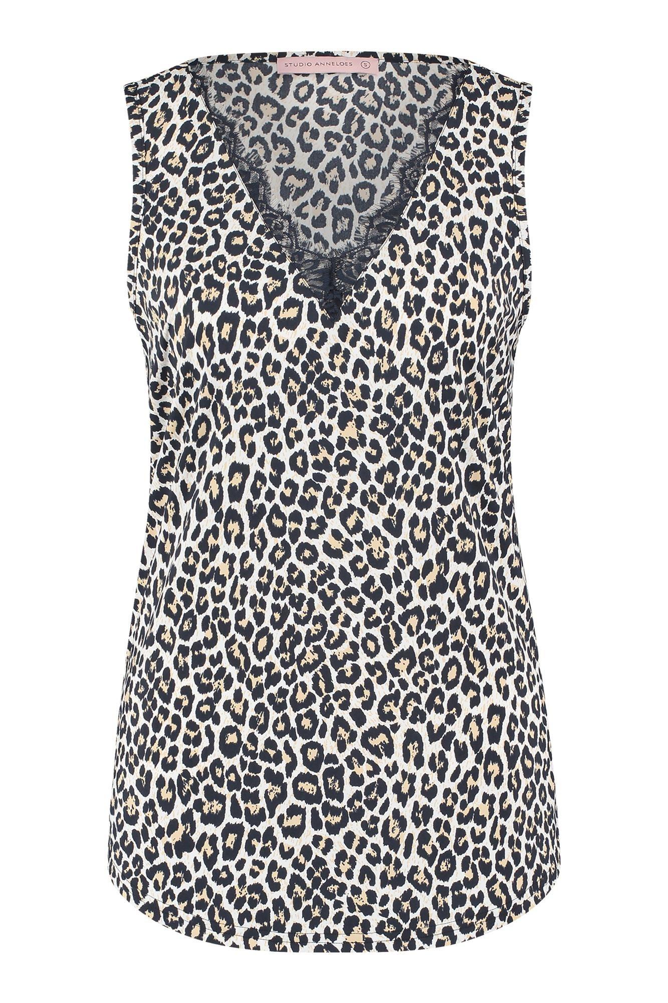 Luisa leopard  top