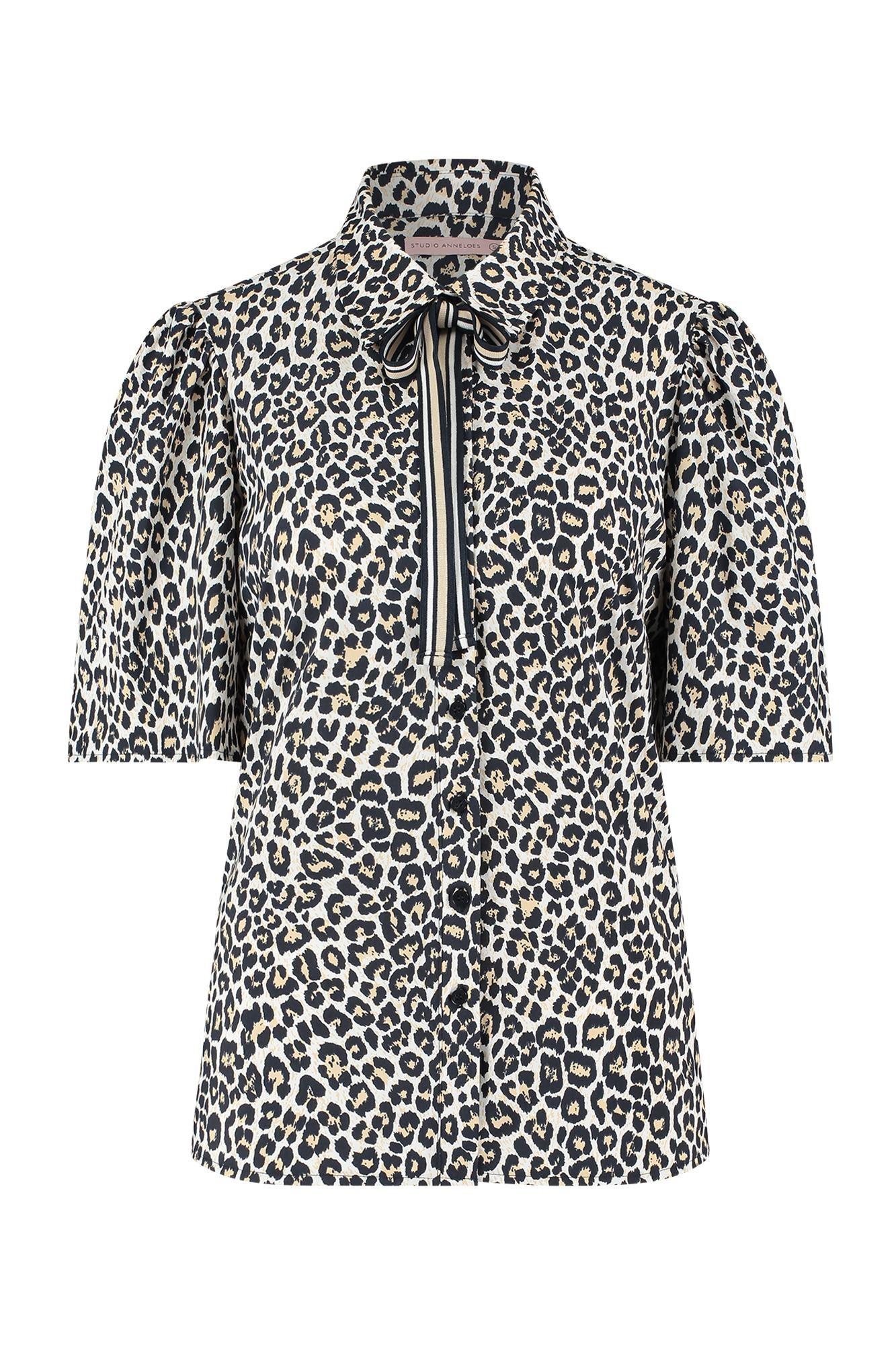 Nomi leopard blouse