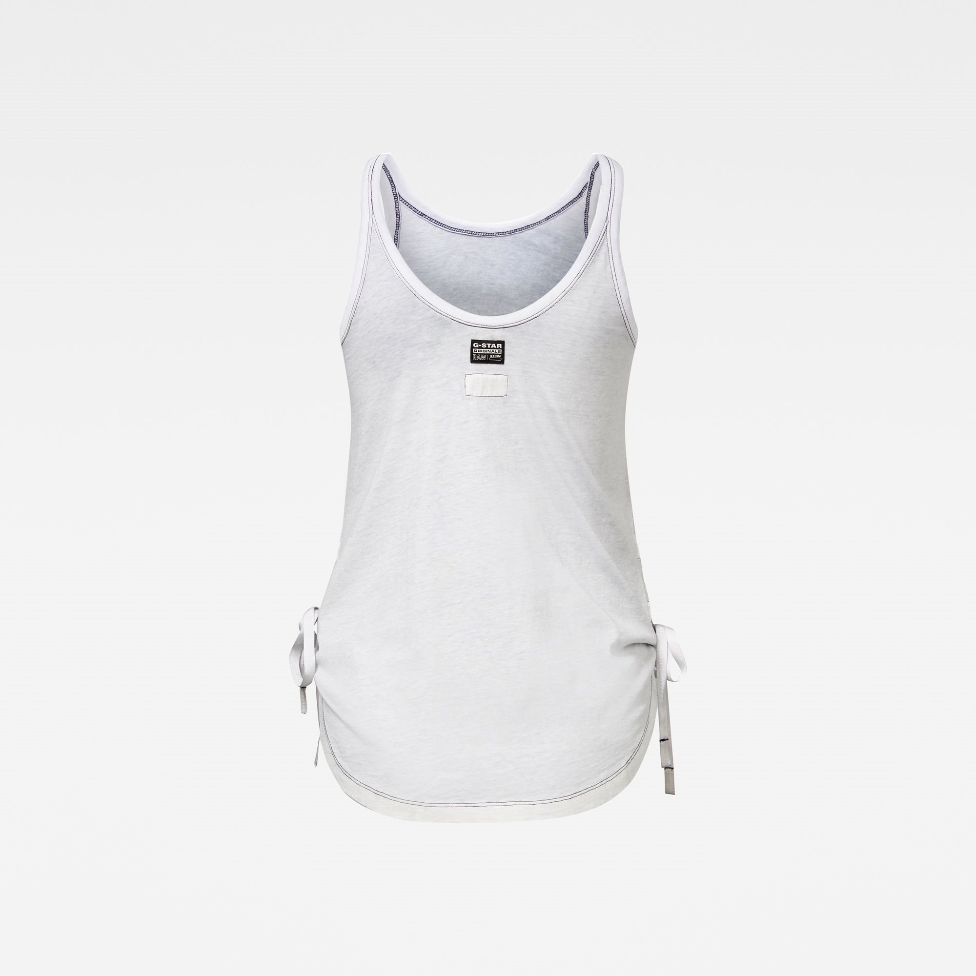 Adjustable tank top inside spr