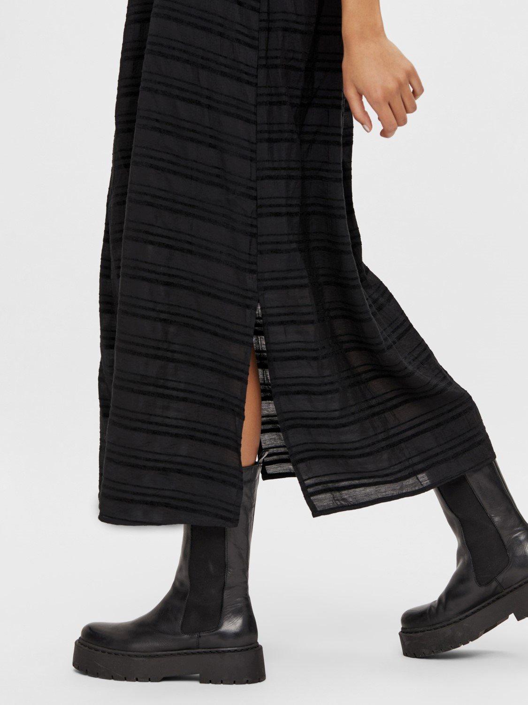 OBJRafia s/l dress
