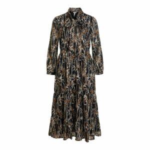 OBJErika ls Long Dress